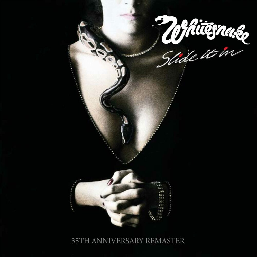 CD Cover Whitesnake Slide It In 35th Anniversary Remaster