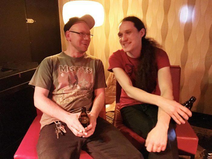 Markus (l.) und TamTam von der Goldgrube