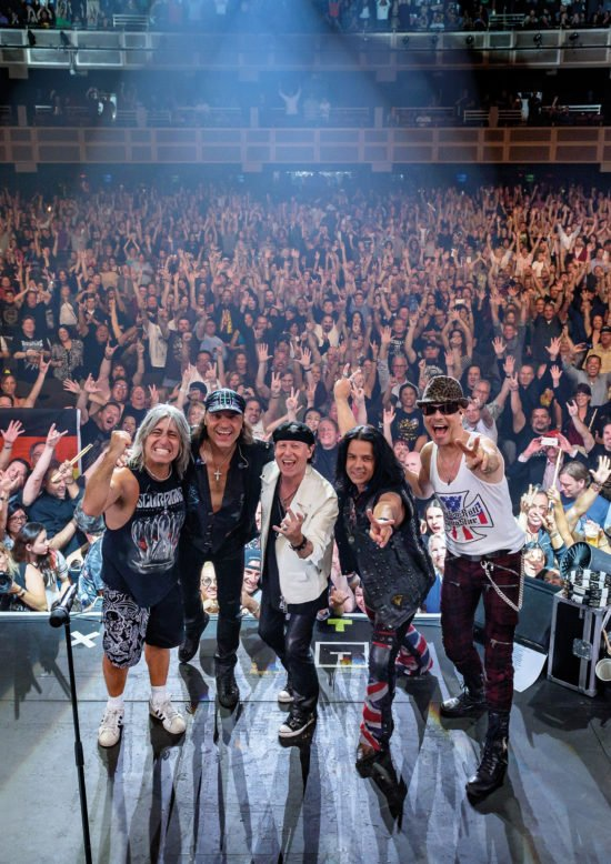 Rock you like a hurricane! - Die Scorpions in Fulda