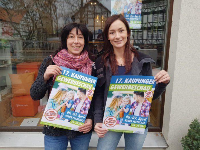 Das ORGATEAM von kreatyv: Frau Frida Bese und Yvonne Prekop
