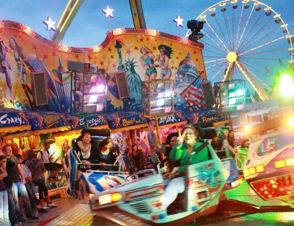Der Kram- und Viehmarkt in Bad Arolsen ist das größte Volksfest Nordhessens.