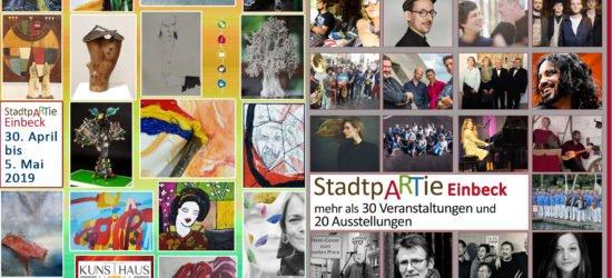 Eine Vielfalt bunter Augenblicke: StadtpARTie Festival zum ersten Mal in Einbeck