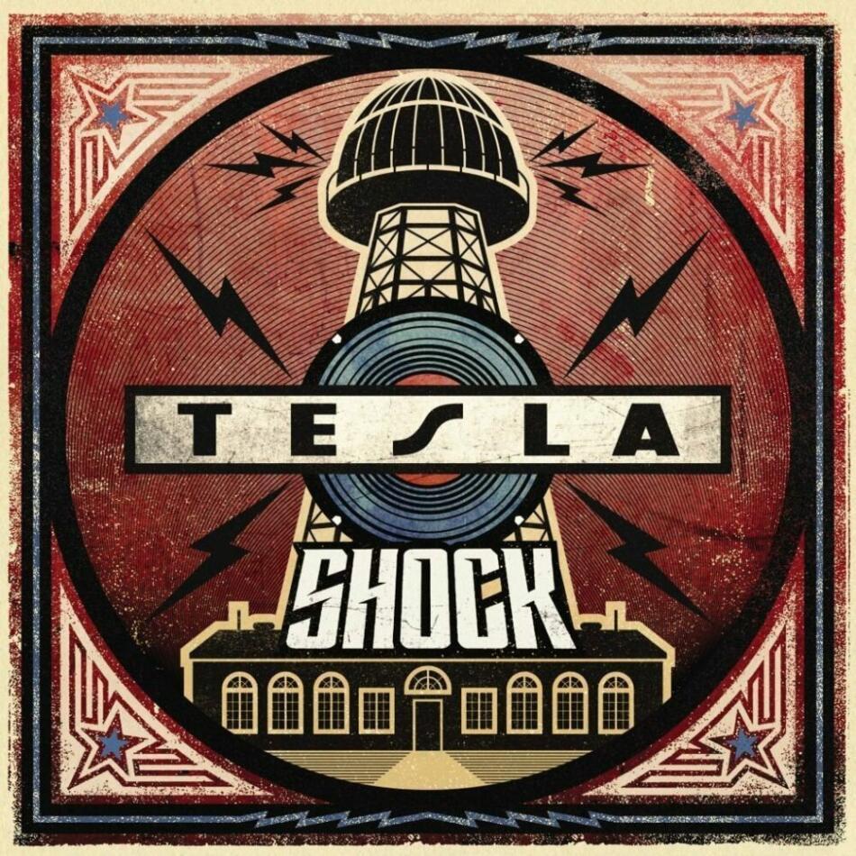 Tesla Shock CD Cover