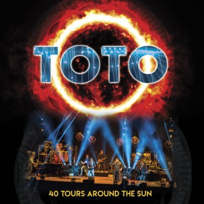 TOTO 40 Tours Around The Sun_CD Cover