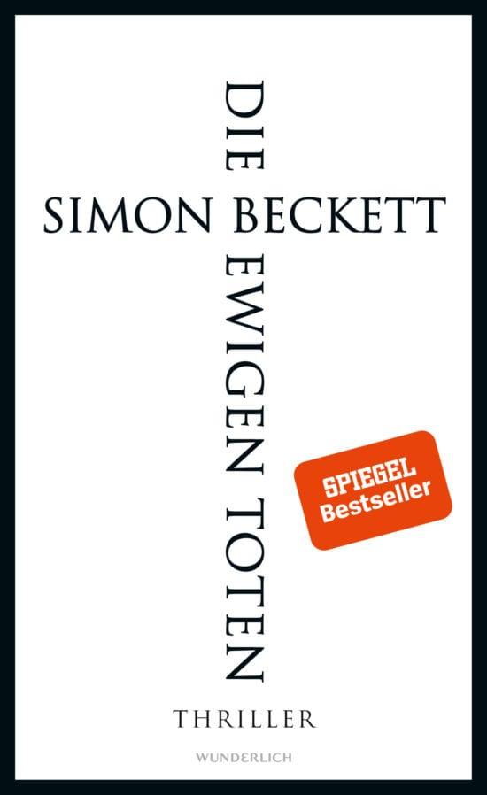 Buchcover Simon Beckett Die ewigen Toten Wunderlich Verlag