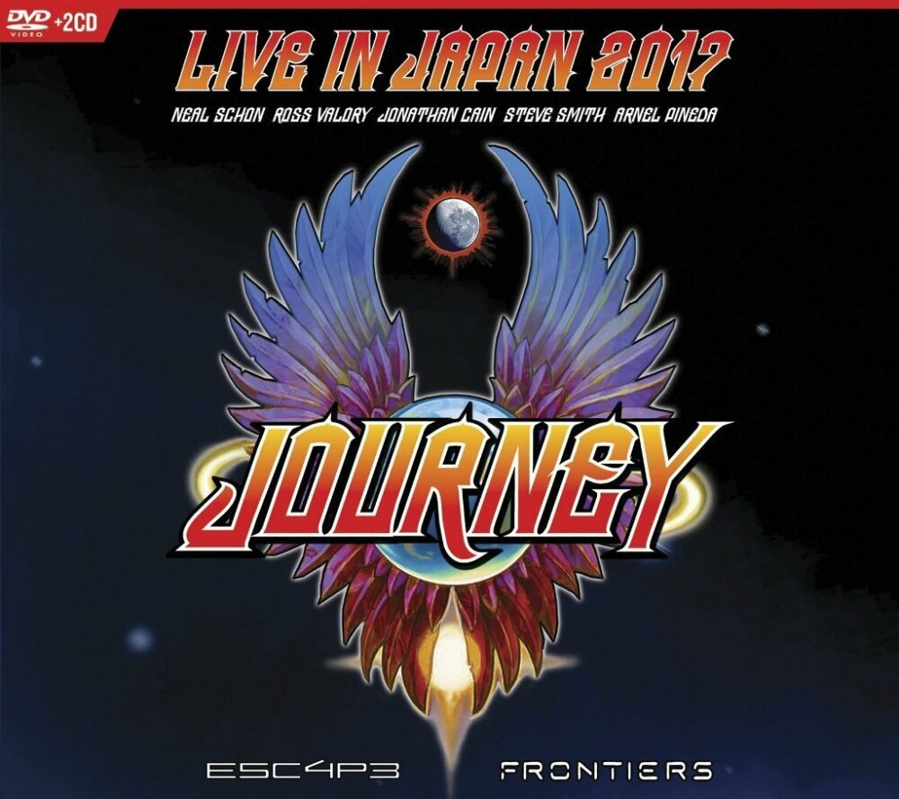 CD Cover JOURNEY Live in Japan 2017 Escape Frontiers