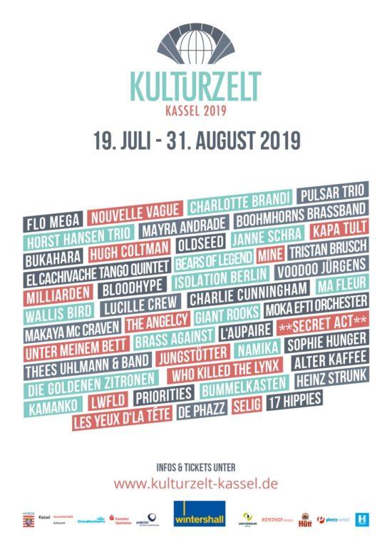 Kulturzelt Plakat A1 041
