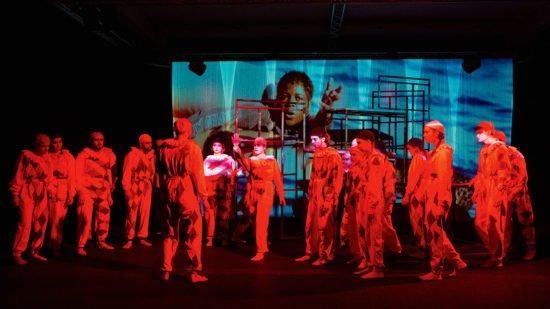Rohestheater im Pierrot Kostüm (© Rohestheater)