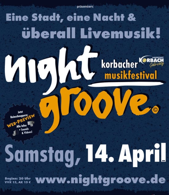 Nightgroove in Korbach: Kneipenwandertage