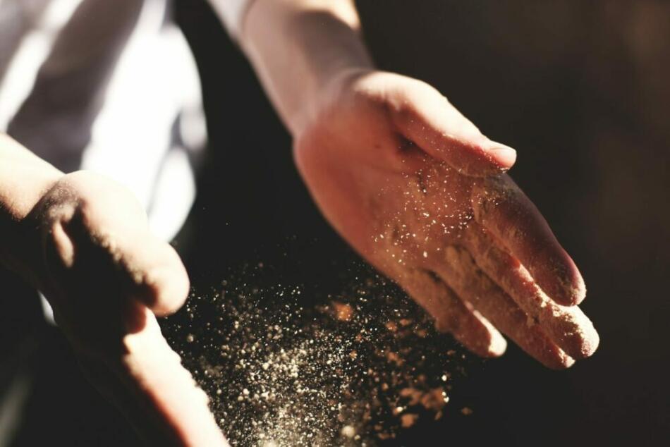 Bäcker Hände