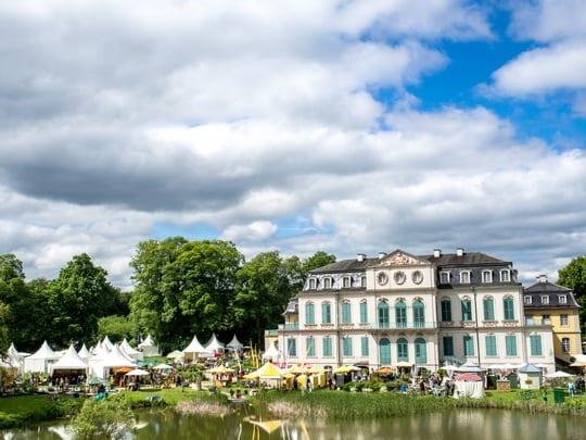 Sommerlicher Start: Gartenfest Kassel vom 30. Mai bis 2. Juni 2019 (Himmelfahrt) im Schlosspark Wilhelmsthal