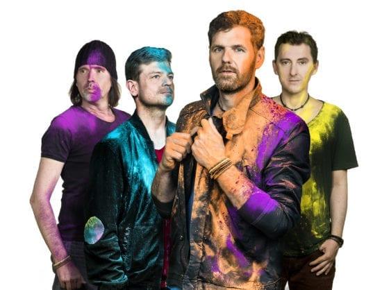 Goldplay Live kommen mit ihren Coldplay Coverhits nach Bad Lippspringe zum Parkfestival 2019