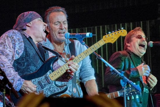Brothers in arms: Steven van Zandt und Bruce Springsteen im Southside