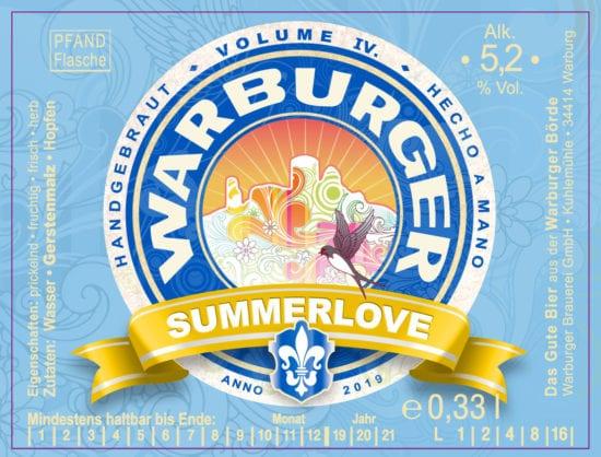 Warburger Brauerei Summerlove