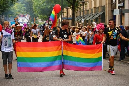 Bild vom CSD in Hamburg