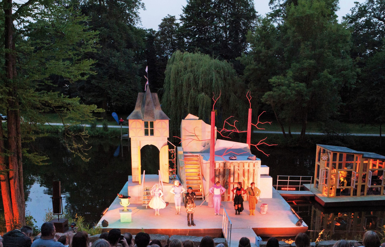 Brüder Grimm Festival Kassel Bühne 2017