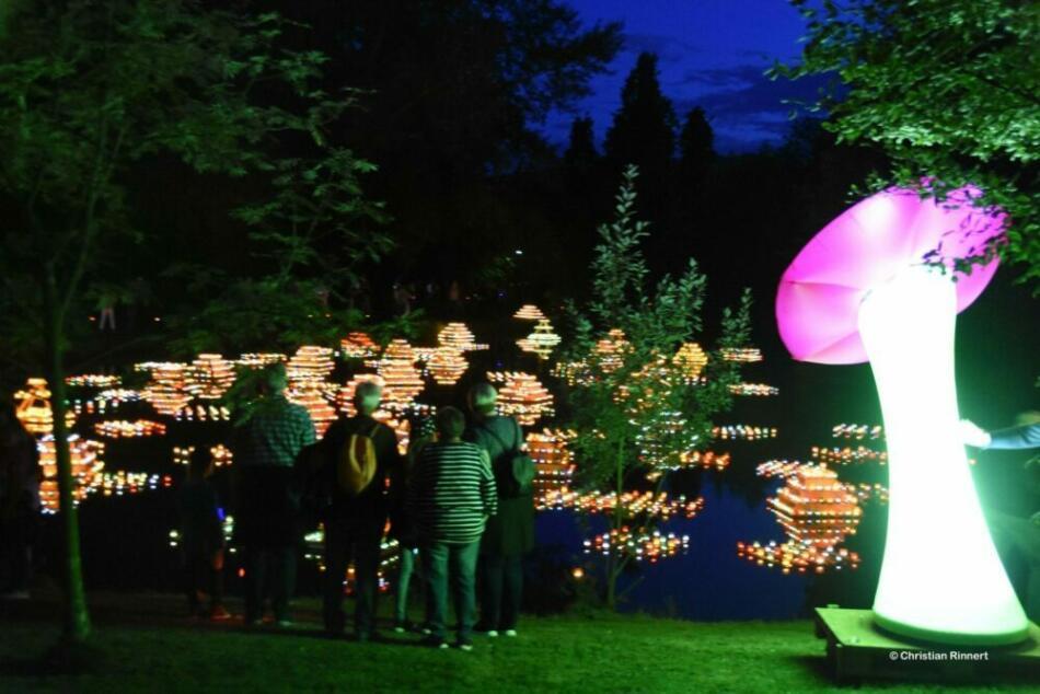 Lichtertraum beim Lichterfest in Bad Zwesten