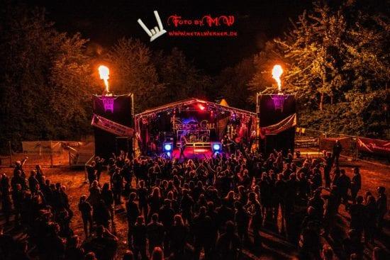 Spielten 2018 auf dem Fest Evil in Manrode: Freedom Call!