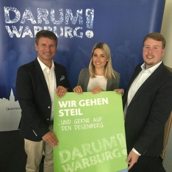 Darum Warburg – Werbekampagne für den Standort Warburg