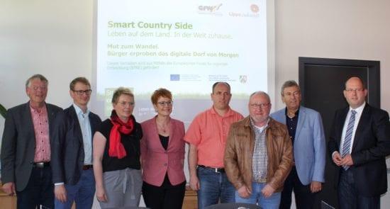 Kreis Höxter: Pressegespräch zu den Fortschritten im Projekt Smart Country Side