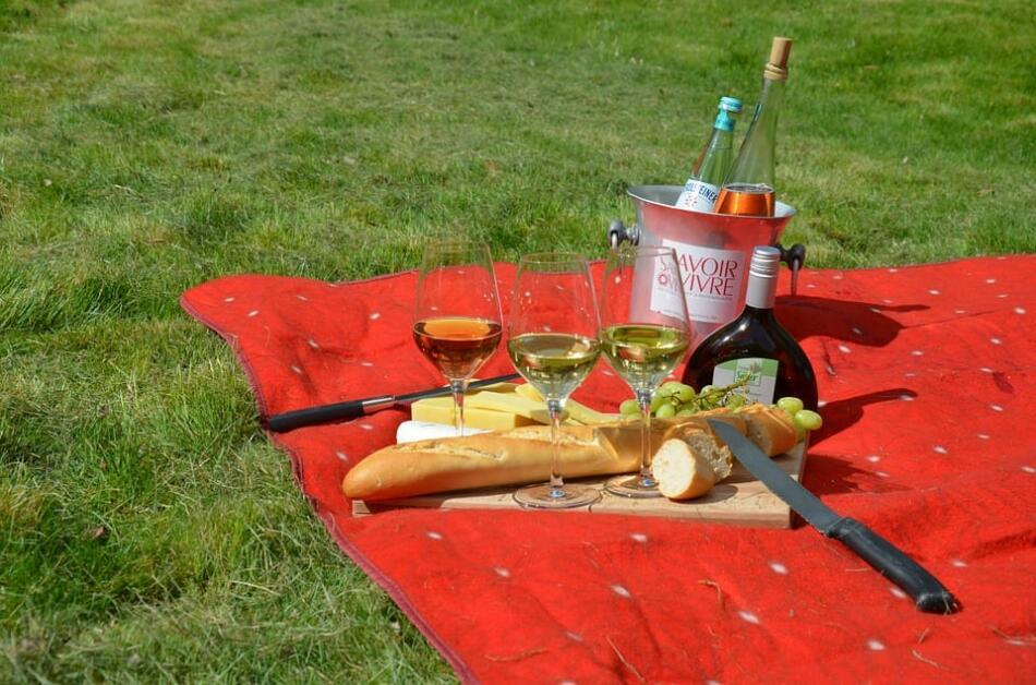 Picknick im Park in Witzenhausen
