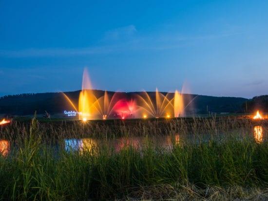 Weserbeleuchtung in Oedelsheim
