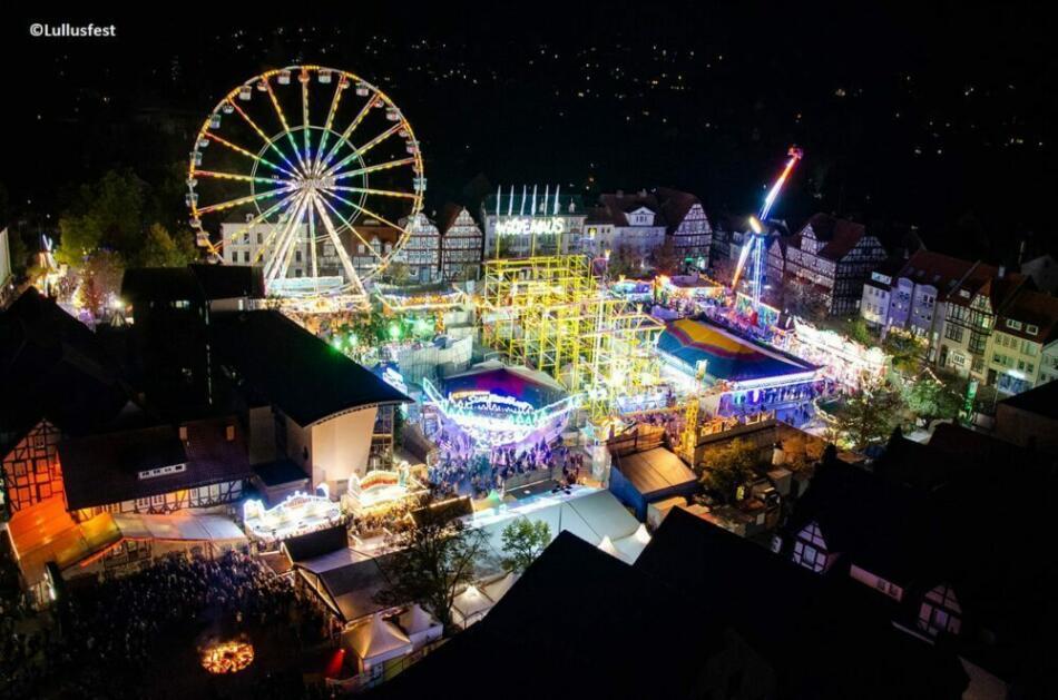 Das Lullusfest bei Nacht 2018 (c) Lullusfest