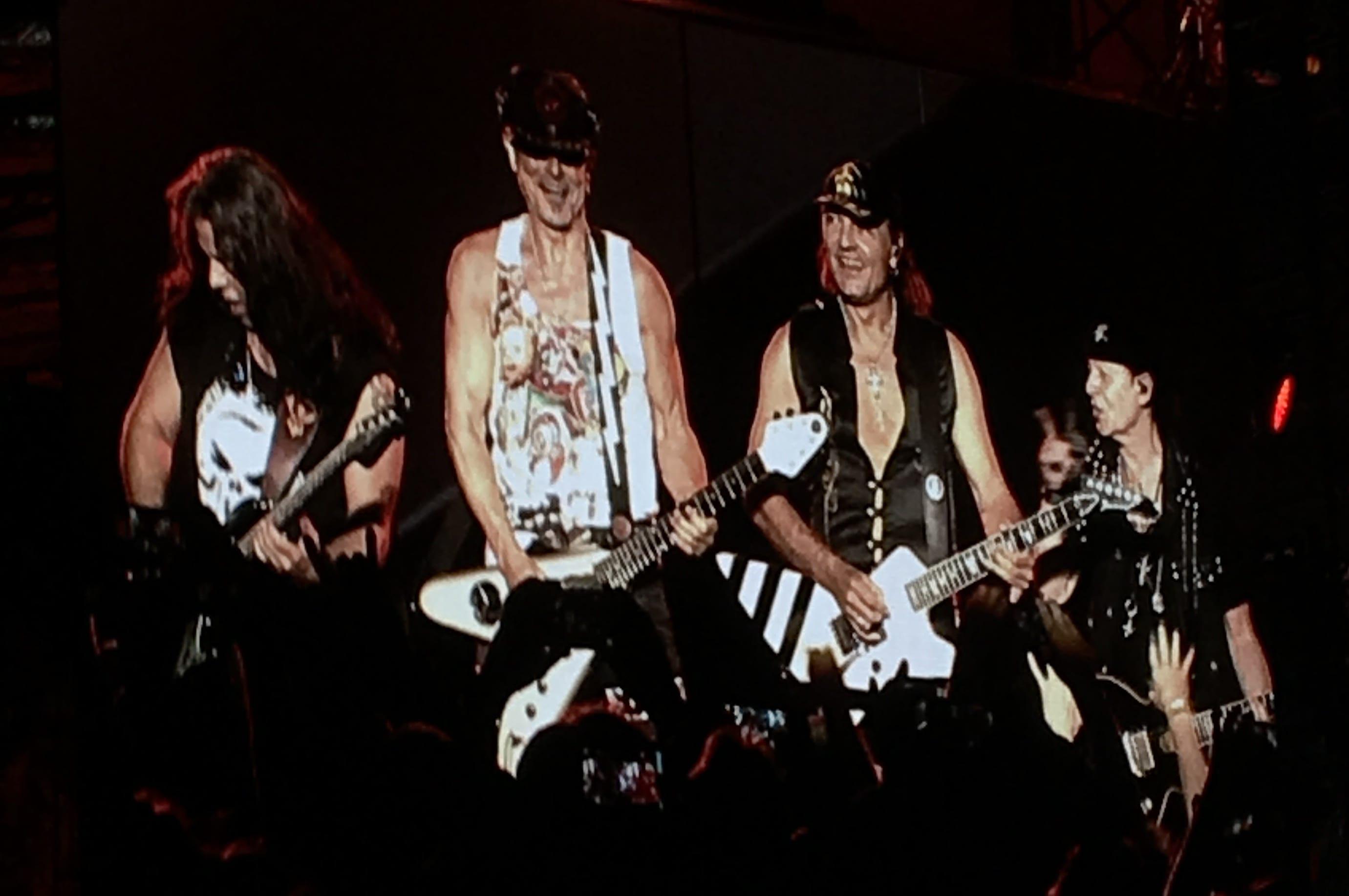 Scorpions live in Fulda 2019