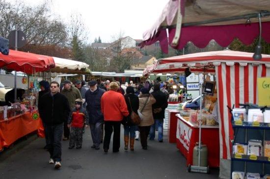 Der Scherzmarkt in Treysa