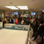 Die Biathlon-Deutschland-Tour im dez Einkaufszentrum in Kassel!