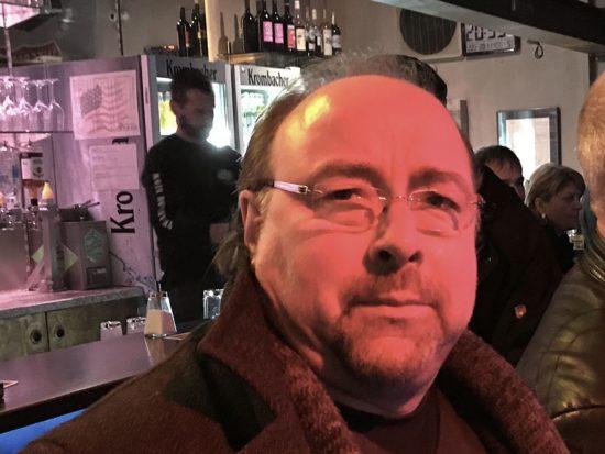 Detlef Landeck in Joe's Garage in Kassel