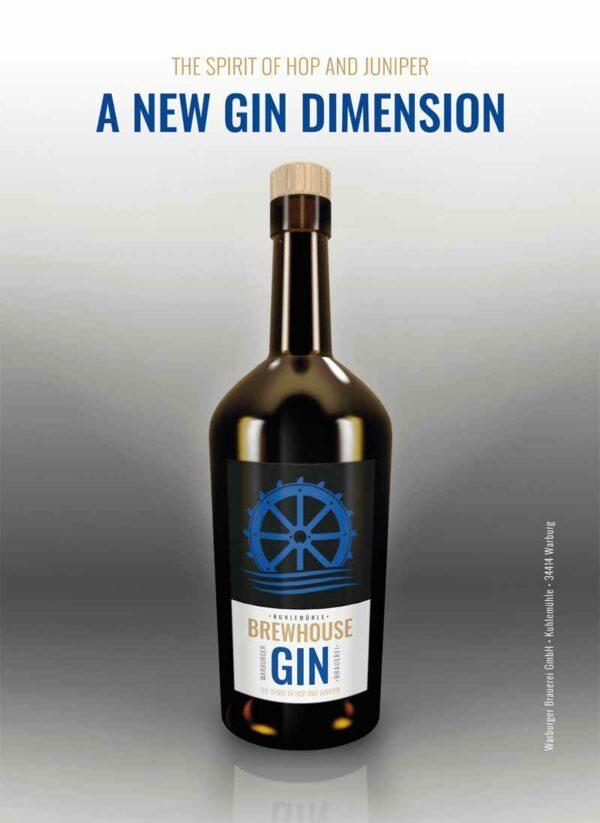 Edlen Brewhouse Gin aus Warburg als Danke-Schön für Deine Ww-Retter-Spende!