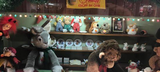 In Kassel sind die Bären los! – Steiff-Winterwelten in den Kaufhof-Schaufenstern
