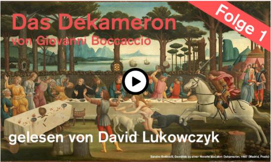Tägliche Online-Lesung! - Theater Paderborn liest das Dekameron