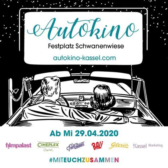 Autokino in Kassel: Seit dem 29. April auf dem Messeplatz Schwanwiese!
