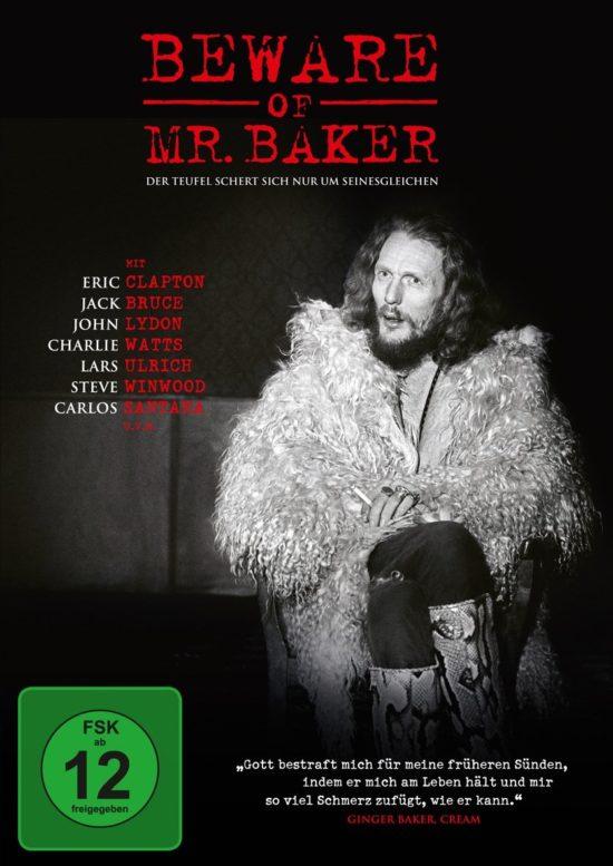 Auf Platz 4 unserer TOP 10 der besten Musik-Dokumentationen: Beware Of Mr. Baker