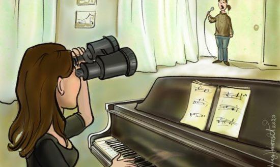 Gesangsunterricht mit Nervenkitzel - Eine neue Corona-Story von Lucy Hobrecht und Romana Reiff
