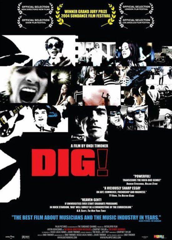 Auf Platz 9 unserer TOP 10 der besten Musik-Dokumentation: DIG!