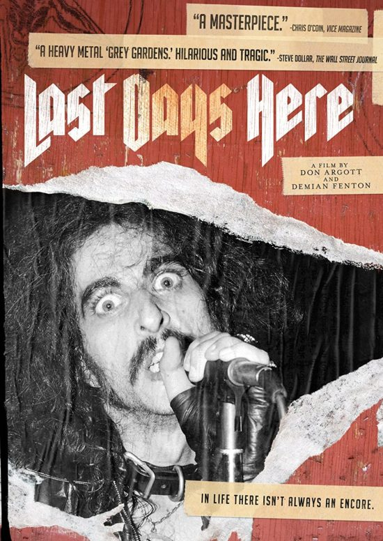 Auf Platz 1 unserer TOP 10 der besten Musik-Dokumentationen: Last Days Here