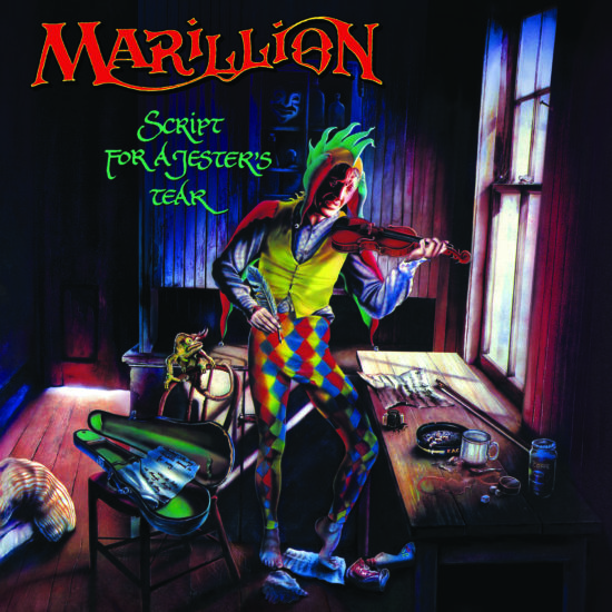 Marillion - Script For A Jester's Tear  - (Parlophone) - CD Cover