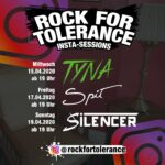 Rock for Tolerance Insta-Sessions