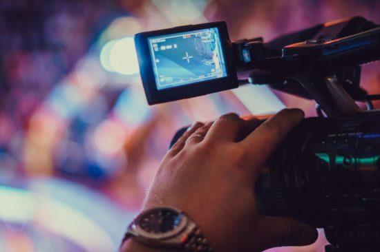 Videokamera beim Online-Event (c) Eventnet GmbH