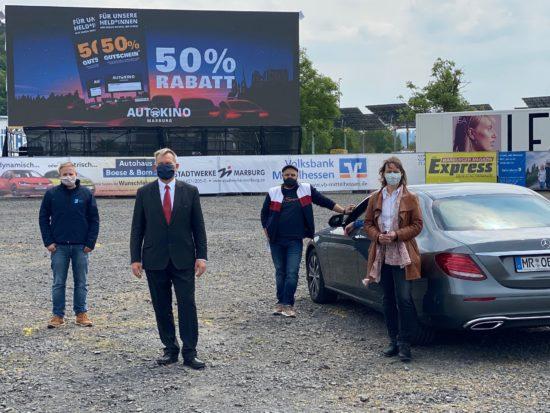 Das Marburger Autokino erweitert kulturelles Angebot