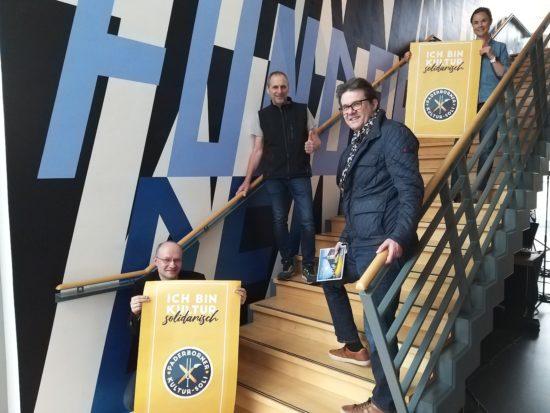 Jazzclub Paderborn unterstützt den Paderborner Kultursoli
