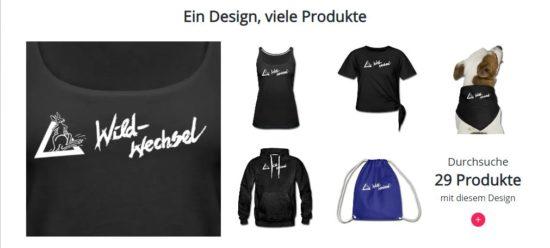 Wildwechsel Merchandise-Shop: T-Shirts, Caps, Sweater und mehr