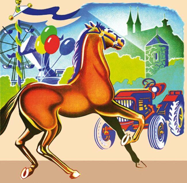 Der Fritzlarer Pferdemarkt oder Pferdemarkt in Fritzlar ist eines der größten Volksfeste in Nordhessen die jährlich stattfinden | (Archivfoto)