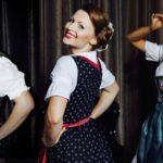 Heidi-Show in Wolfhagen: Drei bezaubernde Heidis in Gerhard's Garten
