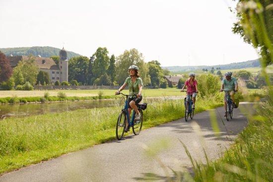 Mit dem Rad durch das atemberaubende Weserbergland - Weser-Radweg verspricht Radfahrspaß für alle Altersklassen