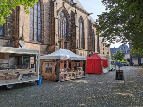 Marburger Oberstadtmarkt ab sofort auf dem Lutherischen Kirchhof