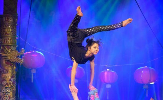 Chinesischer Nationalcircus an der Weser: Bowie-Flair in der Stadthalle Beverungen